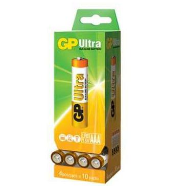 40 סוללות AAA של חברת GP